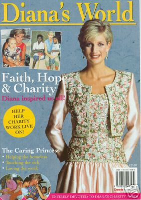 1997 MAGAZINE ON HER CHARITY WORK AND THE LEGACY SHE LEFT