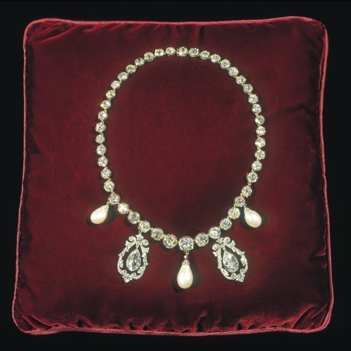 Spencer Family Riviere Necklace