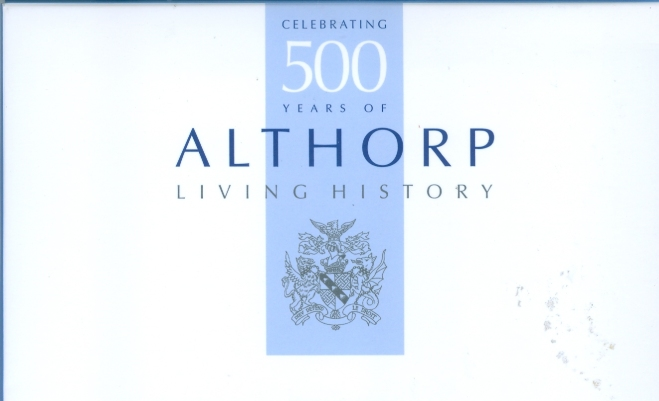 Althorp Set 10 Postcards 500 Year Celebration