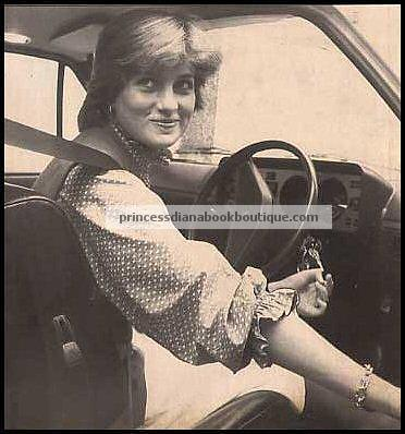 diana driving london 1981