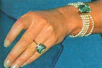 The Aquamarine Ring And Bracelet Set Princess Diana News