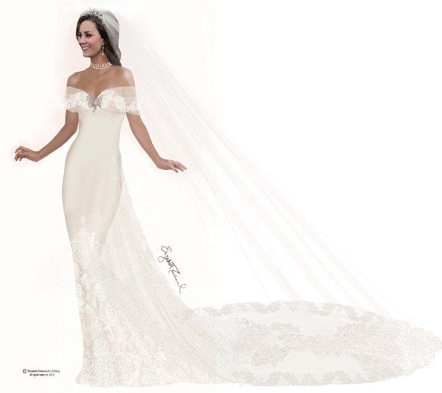 Diana's Wedding Dress Designer Elizabeth Emanuel's Vision