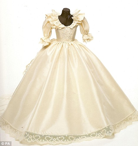 Diana S Wedding Dress Princess Diana News Blog Quot All