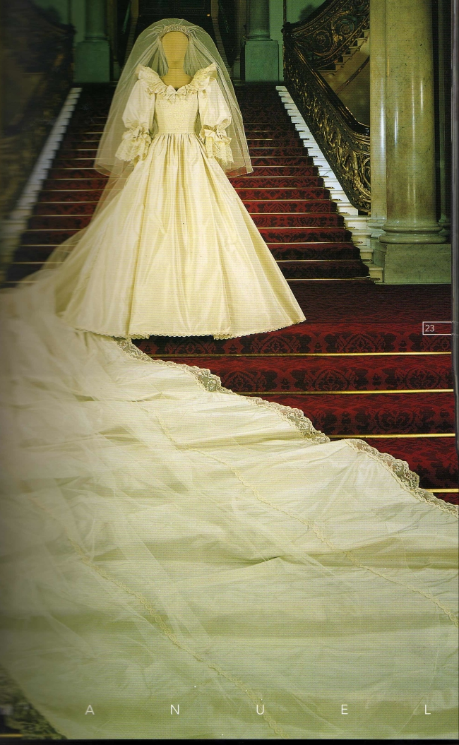 Kensington Palace Royal Wedding Dresses Book : December page princess diana news quot all things