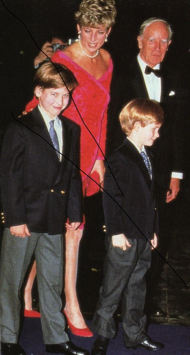 Princess Diana, William & Harry go to the Christmas Party at Highgrove December 1991
