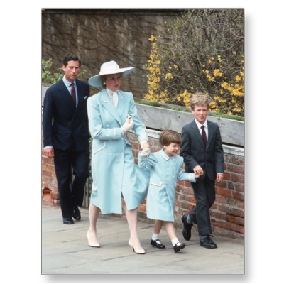 PRINCESS DIANA & FAMILY EASTER, 1987