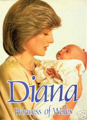 PRINCESS DIANA PRINCE WILLIAM BABY BOOKS