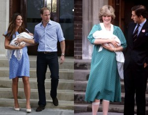 DIANA STYLE KATE BIRTH