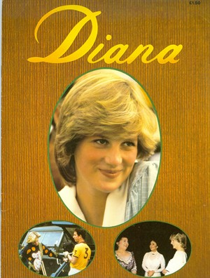 DIANA MOTHER TO BE RARE BOOKLET!