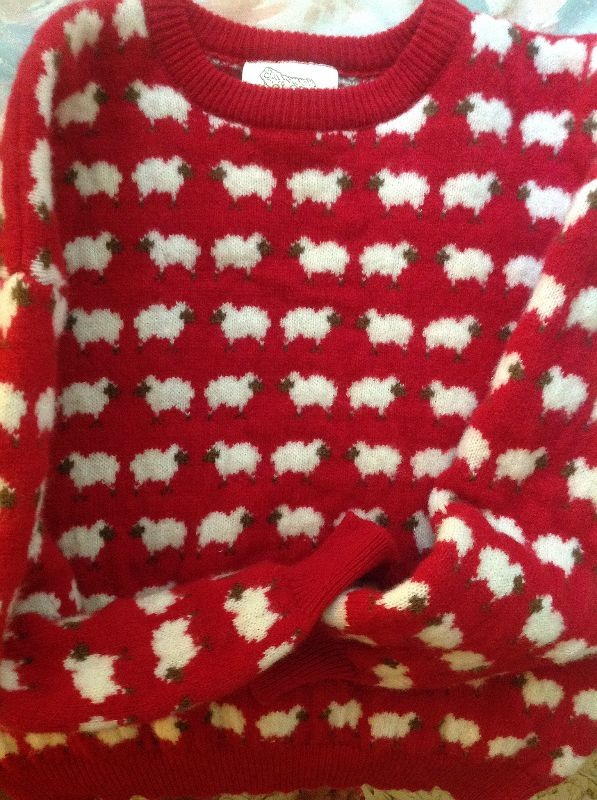 VERY CUTE SHEEP SWEATER JUST IN TO THE BOUTIQUE!!