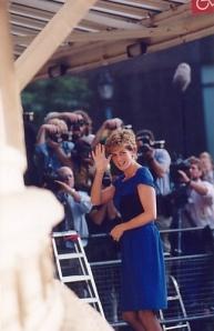 diana blue dress unnown date
