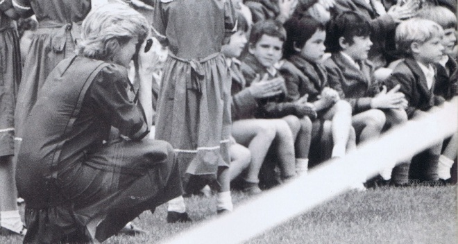 A PRIVATE SNAP OF HARRY AT HIS SCHOOL DAYS C. 1989