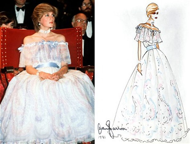 The collection of three outfits includes a silk dress worn by the Princess of Wales as a new bride. The dresses from label Bellville Sassoon ...  sc 1 st  All Things Princess Diana - WordPress.com & ICONIC PRINCESS DIANA DRESSES BY BELLVILE SASSOON TO GO ON DISPLAY ...