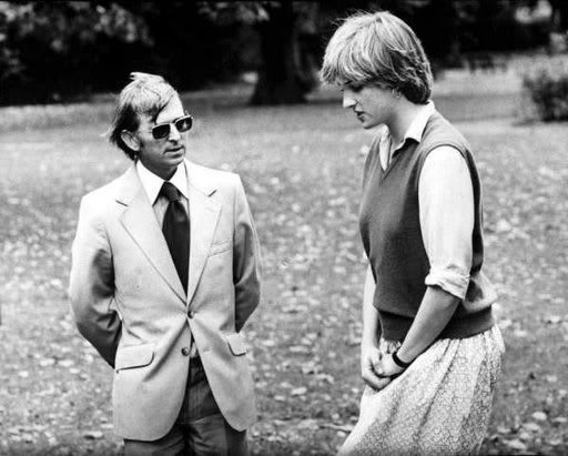 LADY DIANA SPENCER AT THE TIME OF HER ENGAGEMENT 1981 London