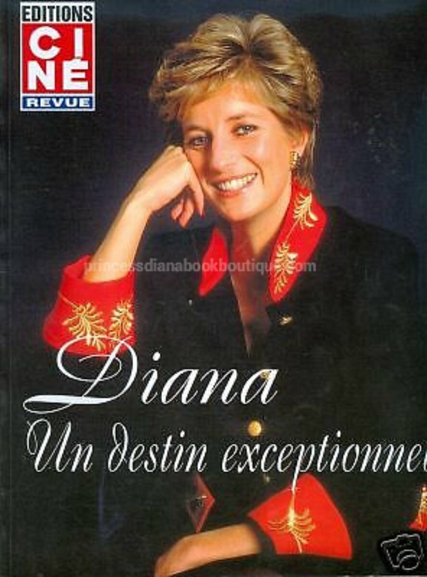 OUR RARE COLLECTABLE TODAY:  Diana an Exceptional Destiny From France Booklet!