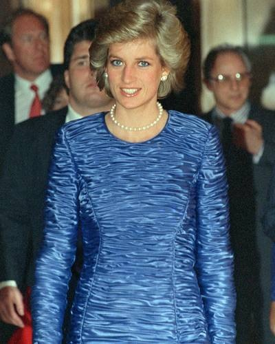 PRINCESS DIANA ARRIVES IN THE BIG APPLE FEBRUARY 1 1989 FOR HER FIRST SOLO 3 DAY VISIT TO NEW YORK CITY!