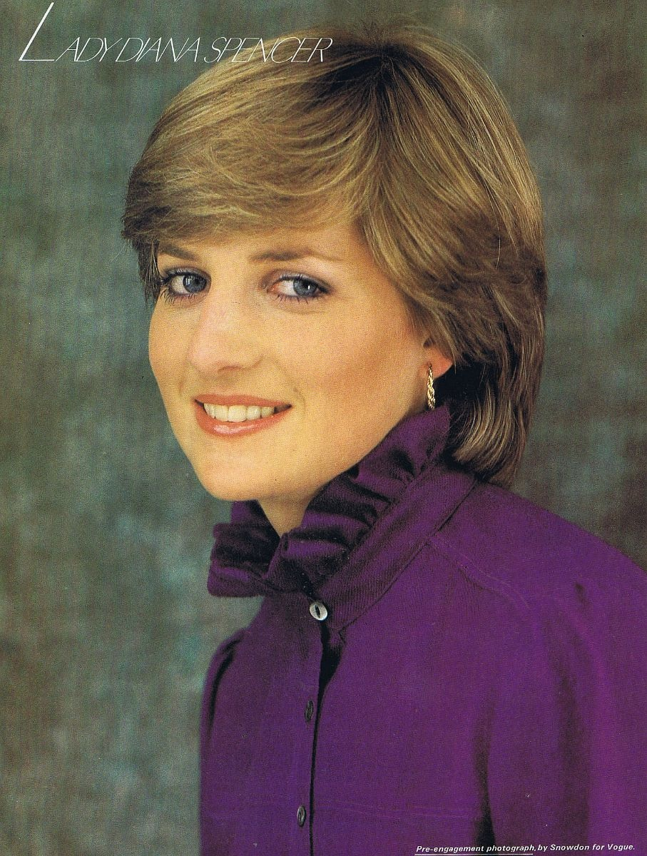 Princess Diana News Blog: FOR LADY DI, A CUT ABOVE; DIANA ON THE VERGE OF ENGAGEMENT