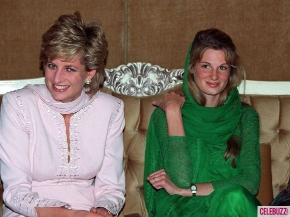 PRINCESS DIANA ARRIVES IN LAHORE PAKISTAN TO SUPPORT IMRAN KHAN'S CANCER HOSPITAL, SHAUKAT KHANUM