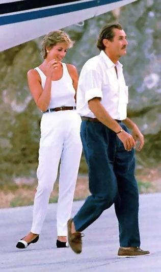 24 February 1995 Princess Diana Enjoys The Last Of Her
