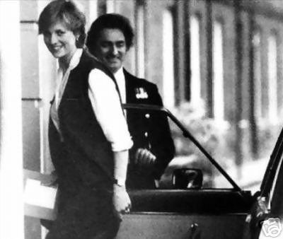25 & 26 FEBRUARY 1981 LADY DIANA SPENCER MOVES OUT OF COLEHERNE COURT AND INTO A NEW LIFE