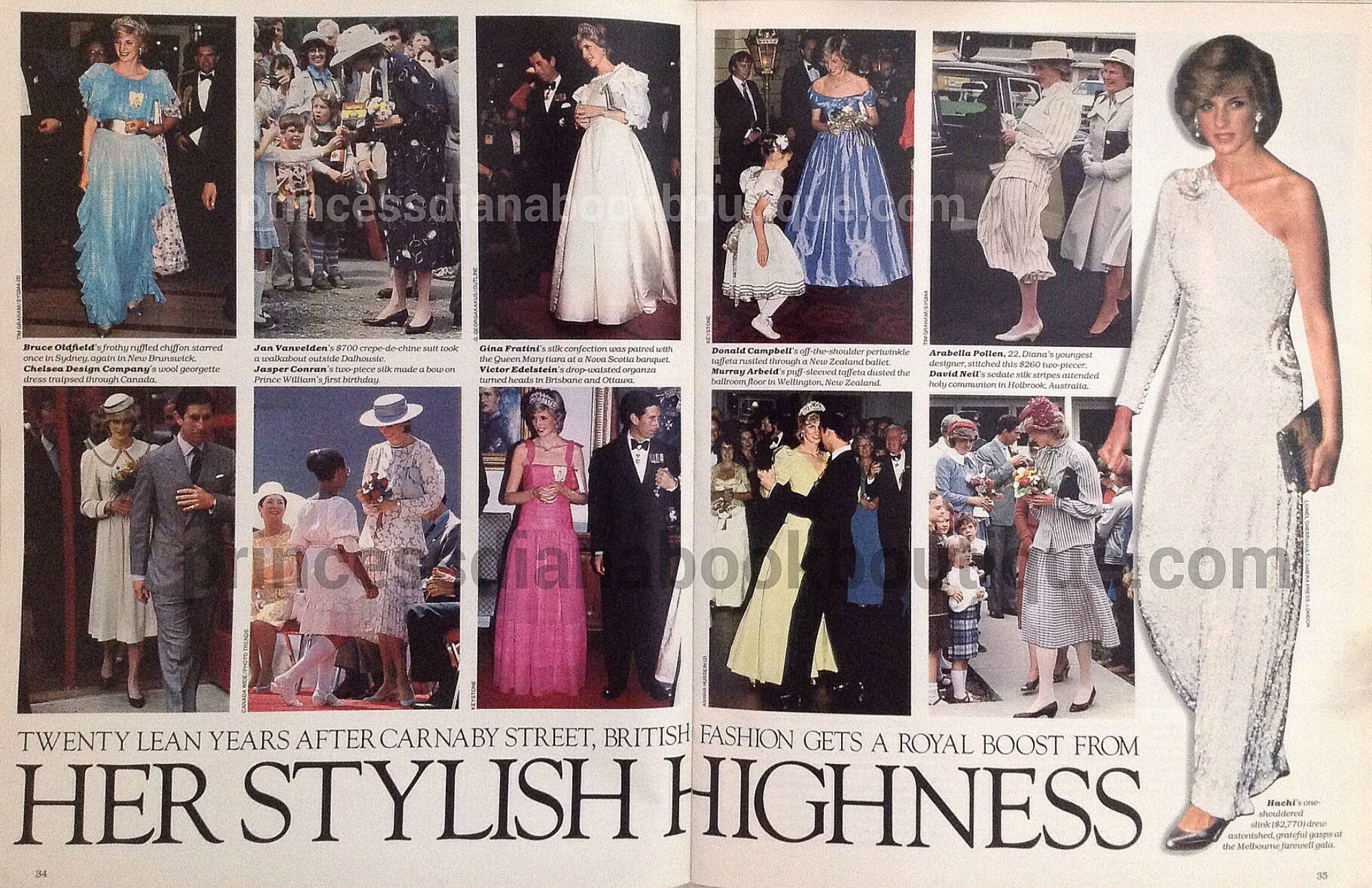 Our Princess Diana Fashion Article Today Her Stylish