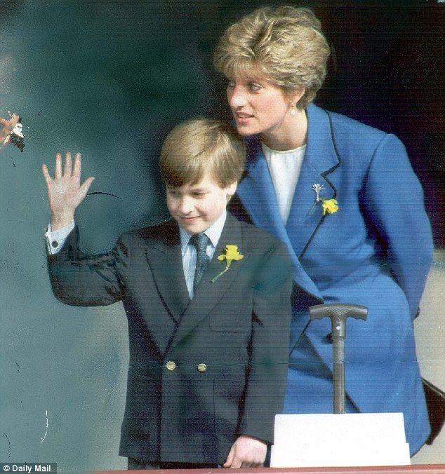 He Made His First Public Engagement At The Side Of Mother Diana Princess Wales Llandaff Cathedral In Cardiff On