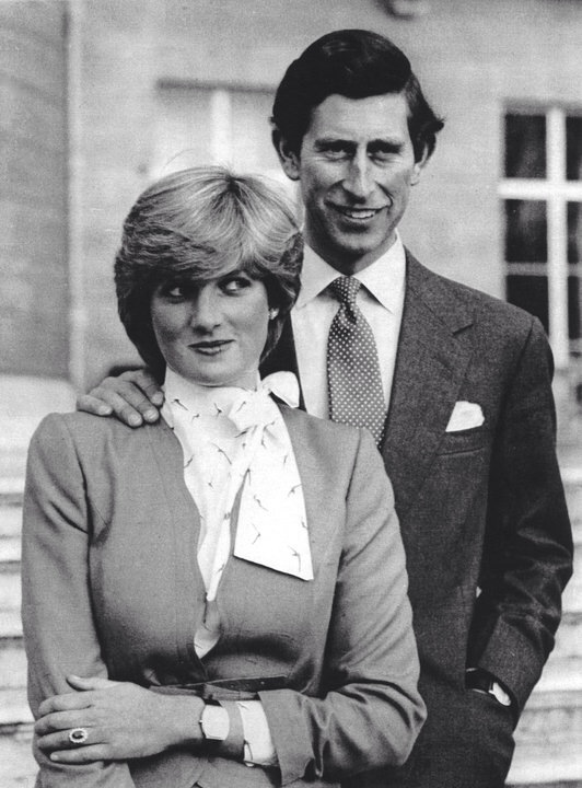 24 FEBRUARY 1981 THE ROYAL ENGAGEMENT: LADY DIANA SPENCER & HRH PRINCE CHARLES, PRINCE OF WALES