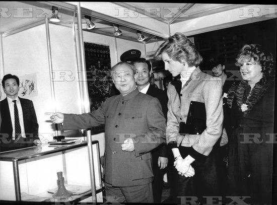 4 march 1985 princess diana attends a special preview of the daily