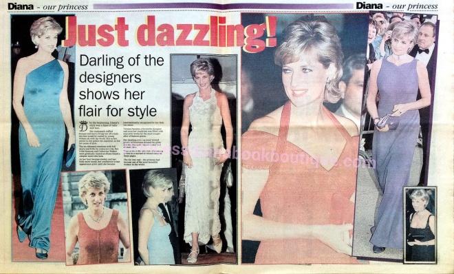 Princess Diana Fashion Designers Princess Diana News
