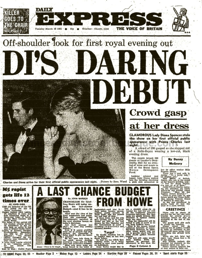news guide at romantic diana death