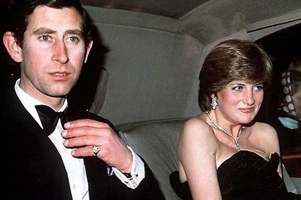 9 March 1981 Lady Diana Spencer Accompanies Prince Charles To