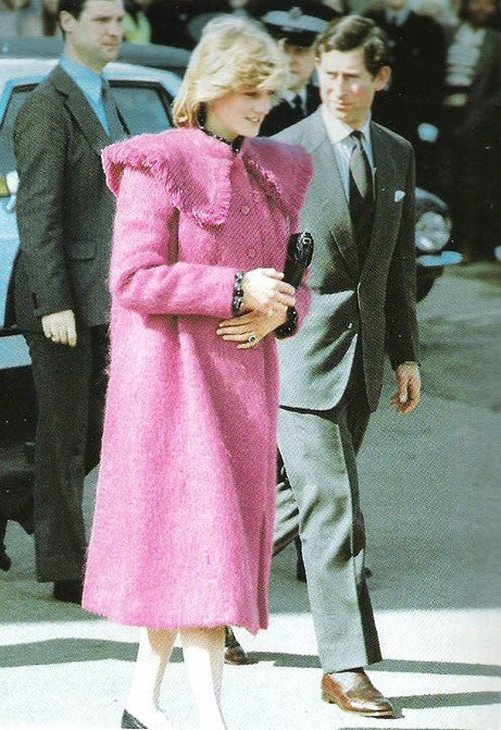 22 March 1982 Prince Charles And Princess Diana Make Their
