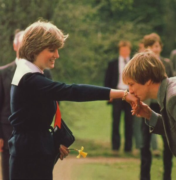 "27 MARCH 1981: ""MAY I KISS THE HAND OF MY FUTURE QUEEN?"" NICK HARDY ASKS – LADY DIANA IN CHELTENHAM"