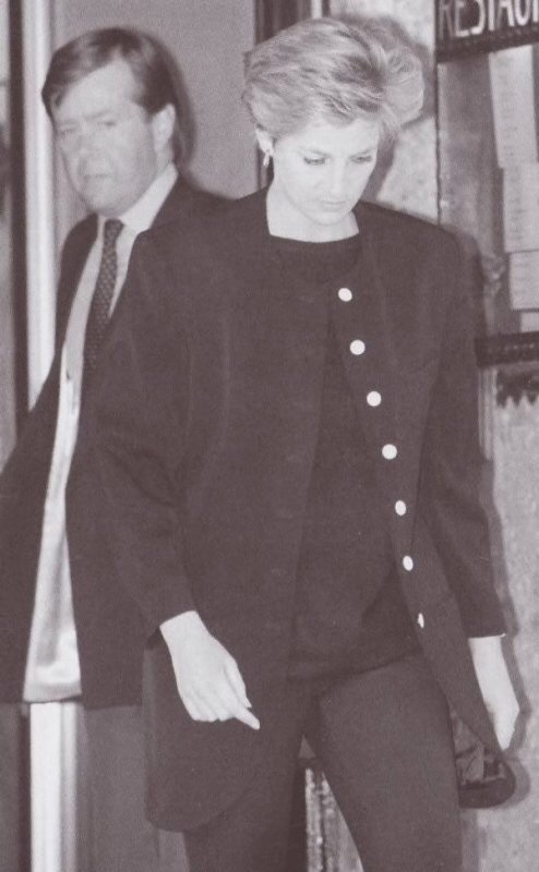29 March 1992 Diana S Father The 8th Earl Spencer Dies Princess Diana News Blog All Things Princess Diana