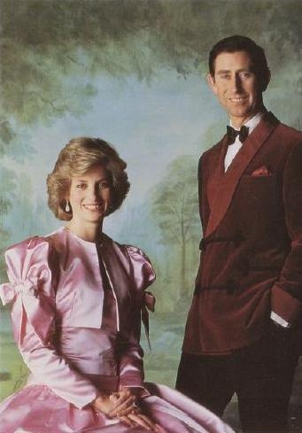 19 & 20 APRIL 1985 SPRINGTIME IN ITALY: THE PRINCE AND PRINCESS OF WALES START THEIR ITALIAN TOU