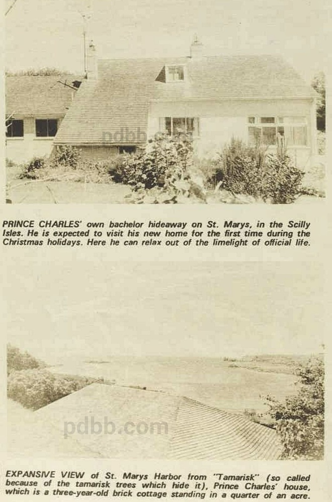 Prince Charles purchased the home in 1969 and spent Christmas there that year.