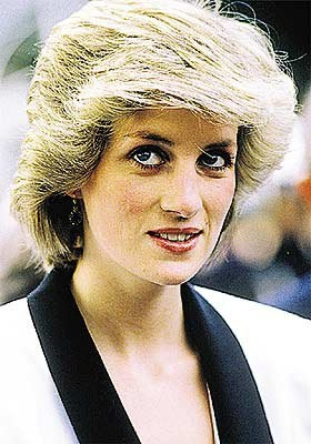 26 APRIL 1985 PRINCESS DIANA IN ROME, ITALY:  BABY GESU HOSPITAL AND BOYS' TOWN ORPHANAGE