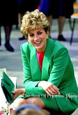 28 APRIL 1992 PRINCESS DIANA DELIGHTS AT THE EXTRA TIME AS SHE VISITS DERBYSHIRE