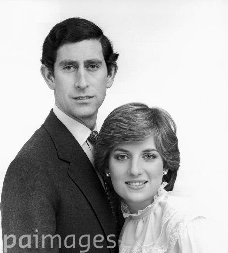 11 MAY 1981: SNOWDON CAMERA TRICKS KEEP CHARLES AHEAD: TWO OFFICIAL WEDDING SOUVENIR PORTRAITS LAUNCHED ON THIS DAY IN1981
