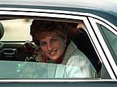 19 MAY 1993 PRINCESS DIANA VISITS LEEDS AND WAKEFIELD, WESTYORKSHIRE