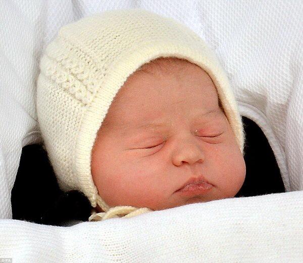 THE NEW LITTLE PRINCESS CHARLOTTE OFCAMBRIDGE