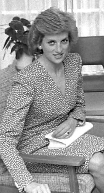 23 MAY 1989 PRINCESS DIANA VISITS BARLEY WOOD, WRINGTON, AVON AND THE OFFICES OF BRISTOL RELATE