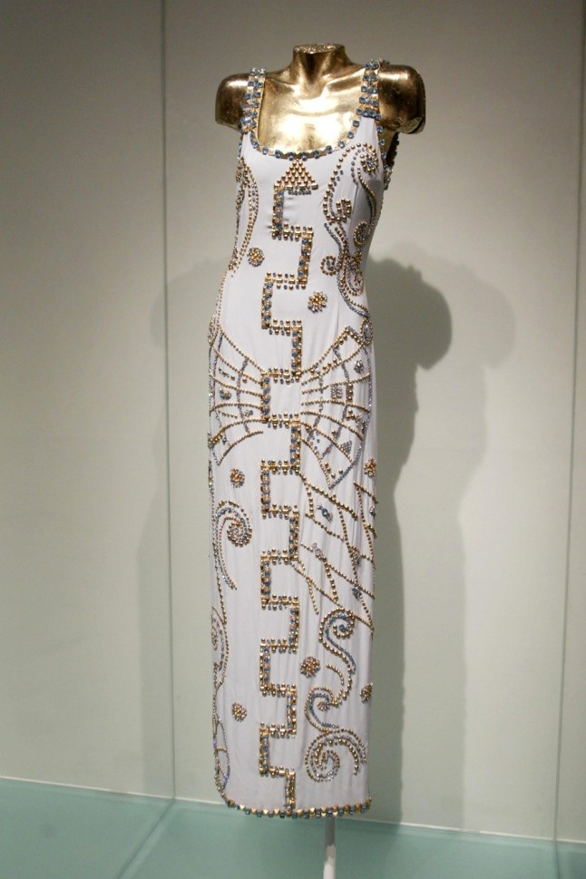 9e98d832d98 THAT GORGEOUS JEWELLED VERSACE GOWN WORN BY PRINCESS DIANA FOR A ...