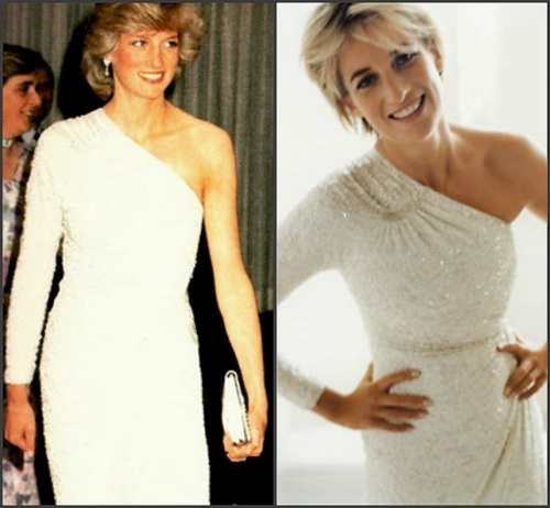 "4 JUNE 1983 THE BROADLANDS BALL II: OUR PRINCESS DIANA PRESS ARTICLE IS ""DINNER WITH DI"""