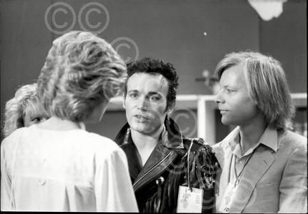 "Rose Kodis • 21 weeks ago Princess Diana speaking with performer Adam Ant at the ""Live Aid For Africa"" at the Wembley Arena, London."