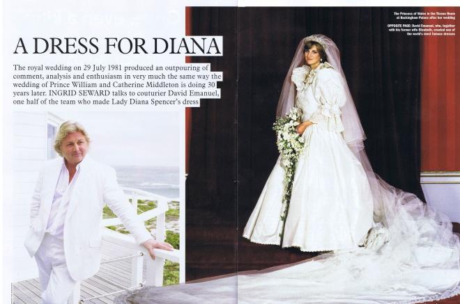 29 JULY 1981: A WEDDING DRESS FOR DIANA – Princess Diana News Blog ...