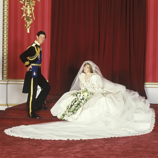 29 JULY 1981:  A WEDDING DRESS FOR DIANA