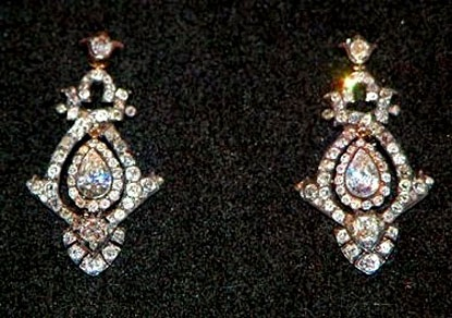 Lady Diana's earrings for her 1981 wedding