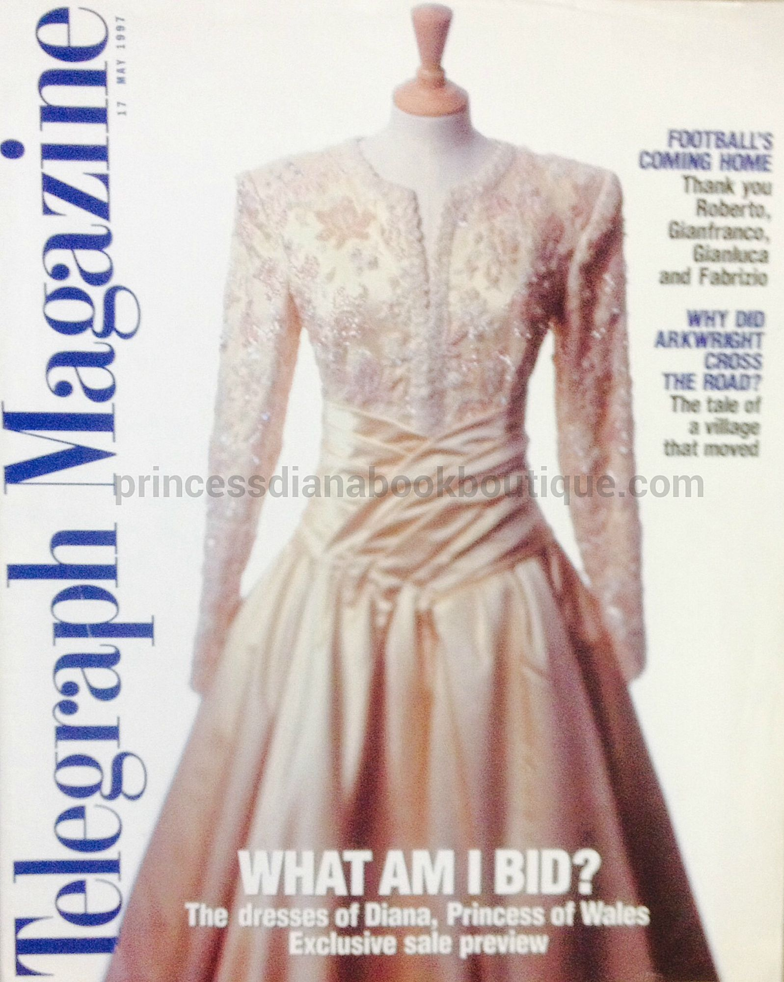 Princessdianabookboutique Com: OUR RARE PRINCESS DIANA COLLECTABLE TODAY IS FROM 1997