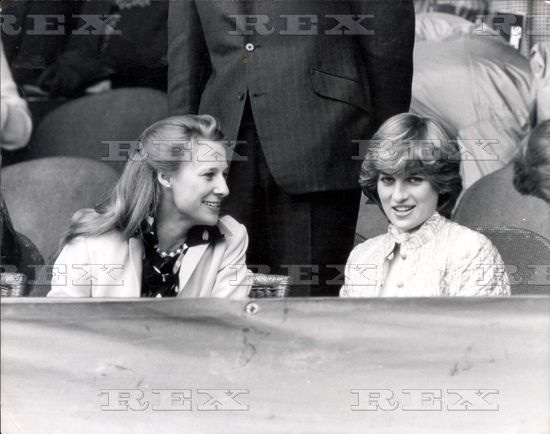 Lady Diana and the Duchess of Gloucester